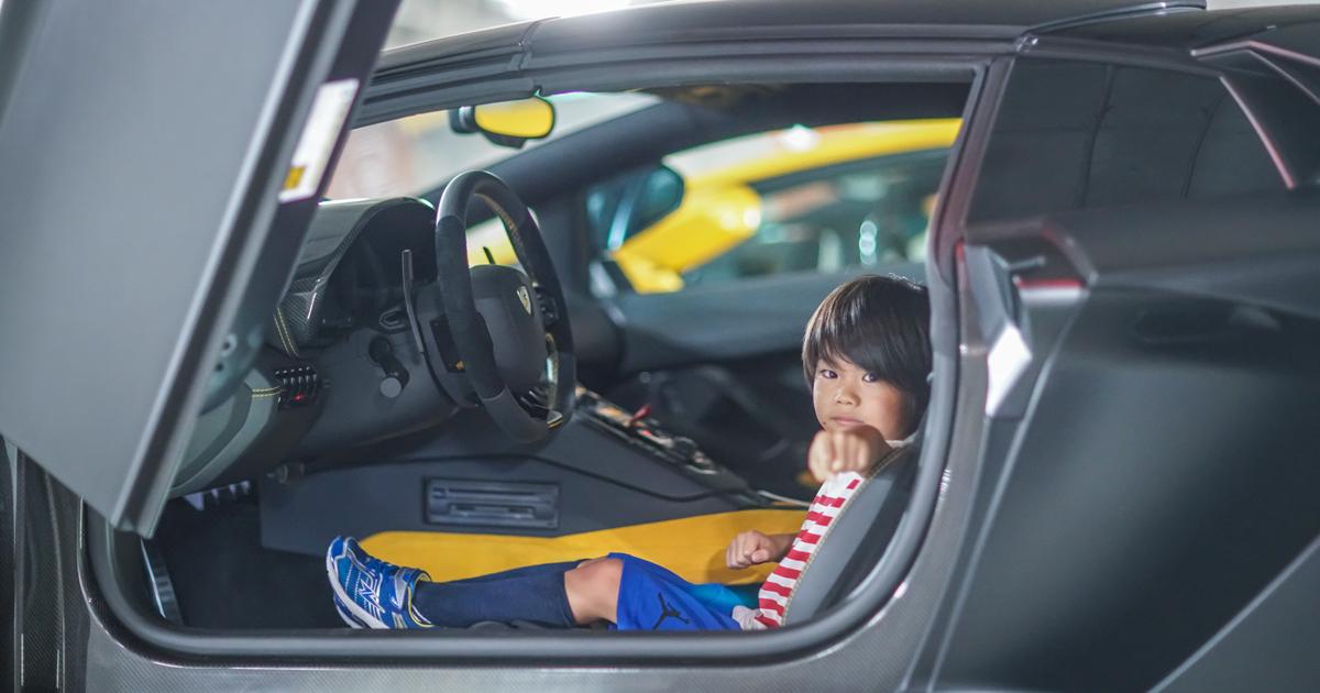 アヴェンタドール新車オプション「スモーカーパッケージ」をボクがオススメする理由