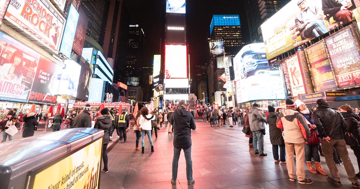 傷心のオレ、ニューヨークに行く