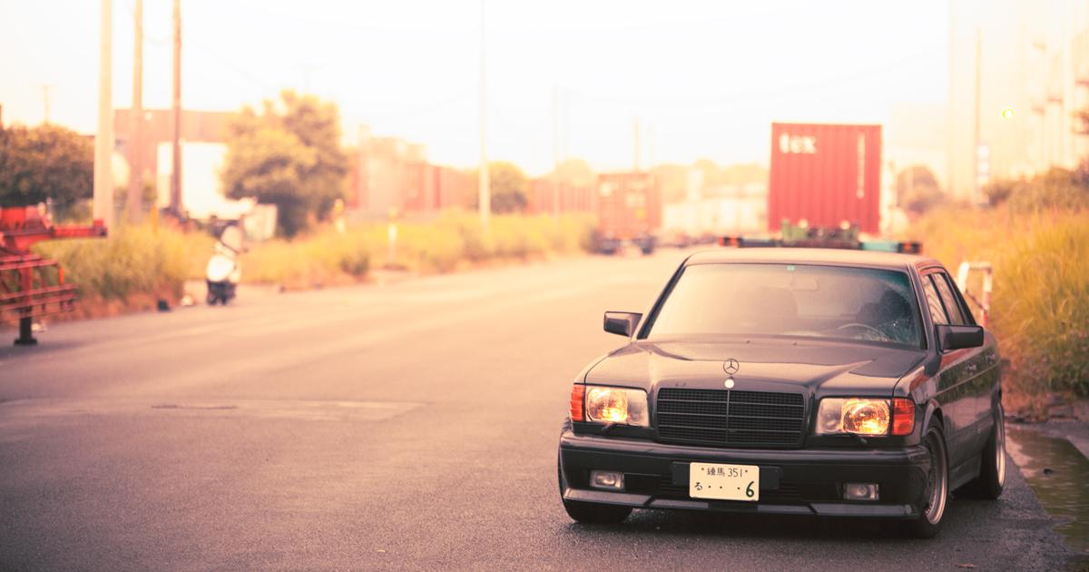 W126ベンツ AMG 560SEL6.0という名車はどこいった?