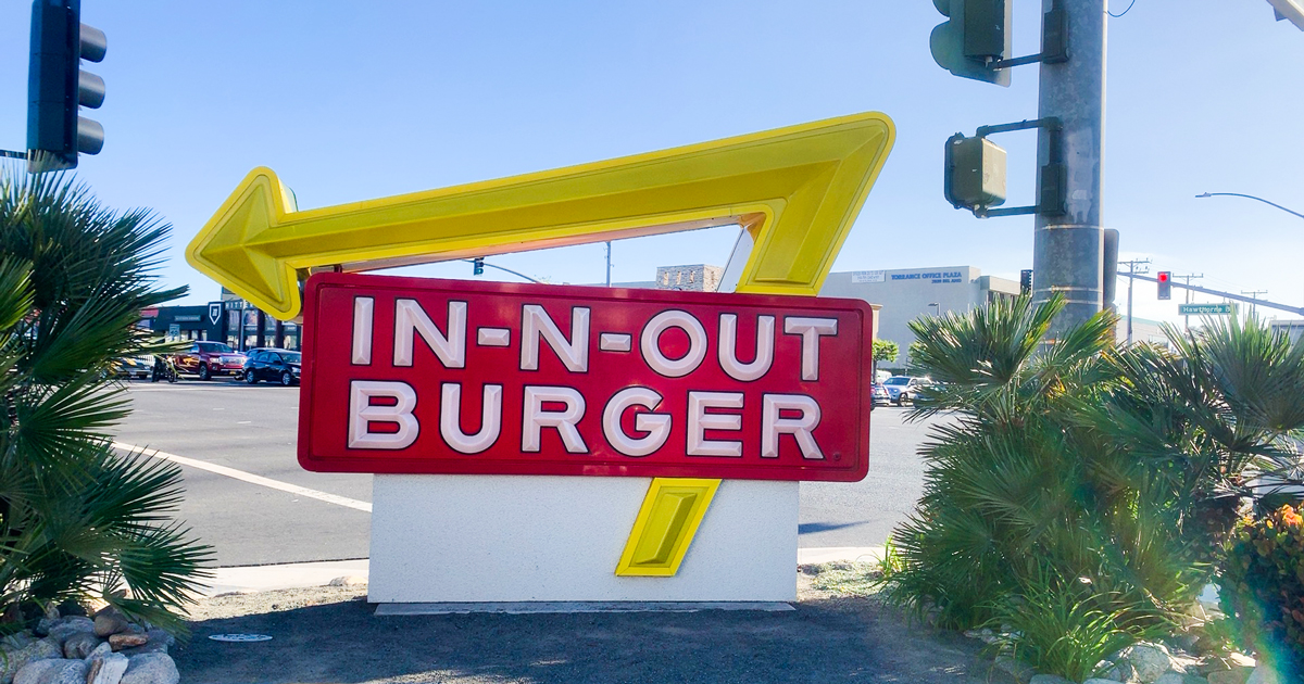 IN-N-OUTバーガー