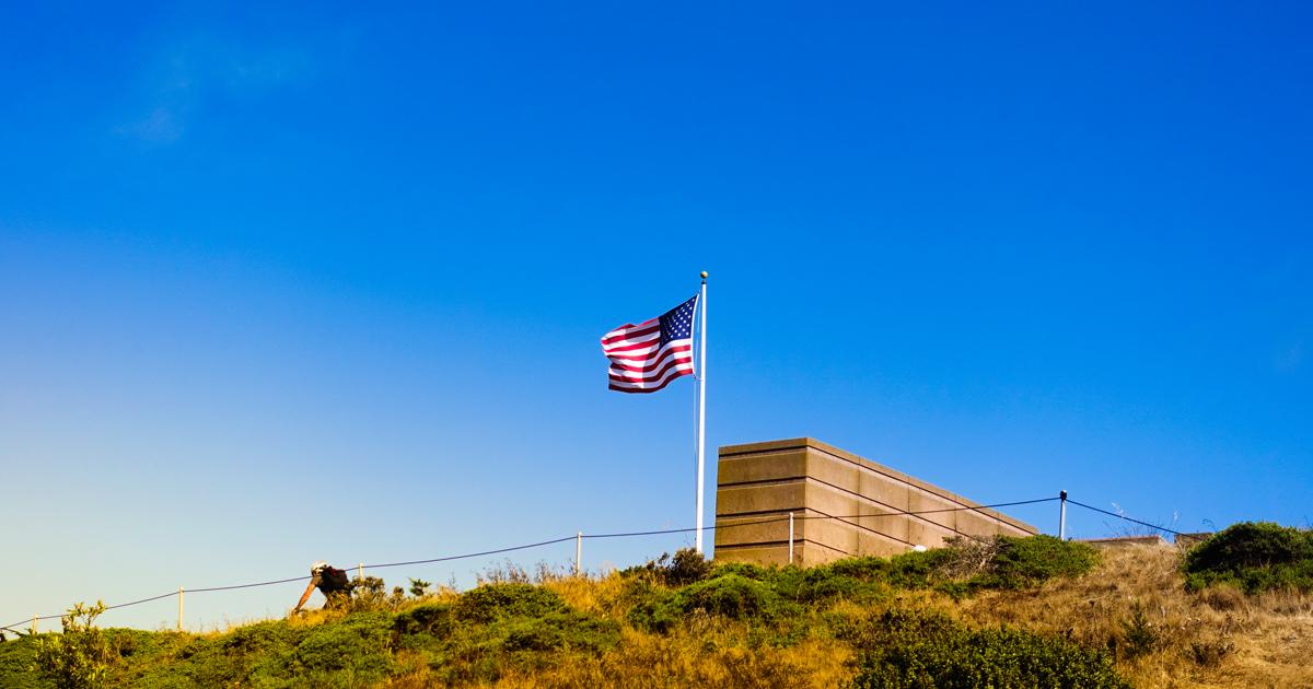 ミート君とゆくサンフランシスコの旅:ゴールデンゲートブリッジ