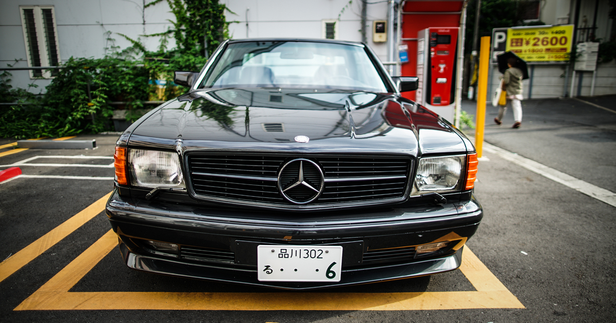 至高のAMG!91最終 W126 560SEC ワイドボディ納車!