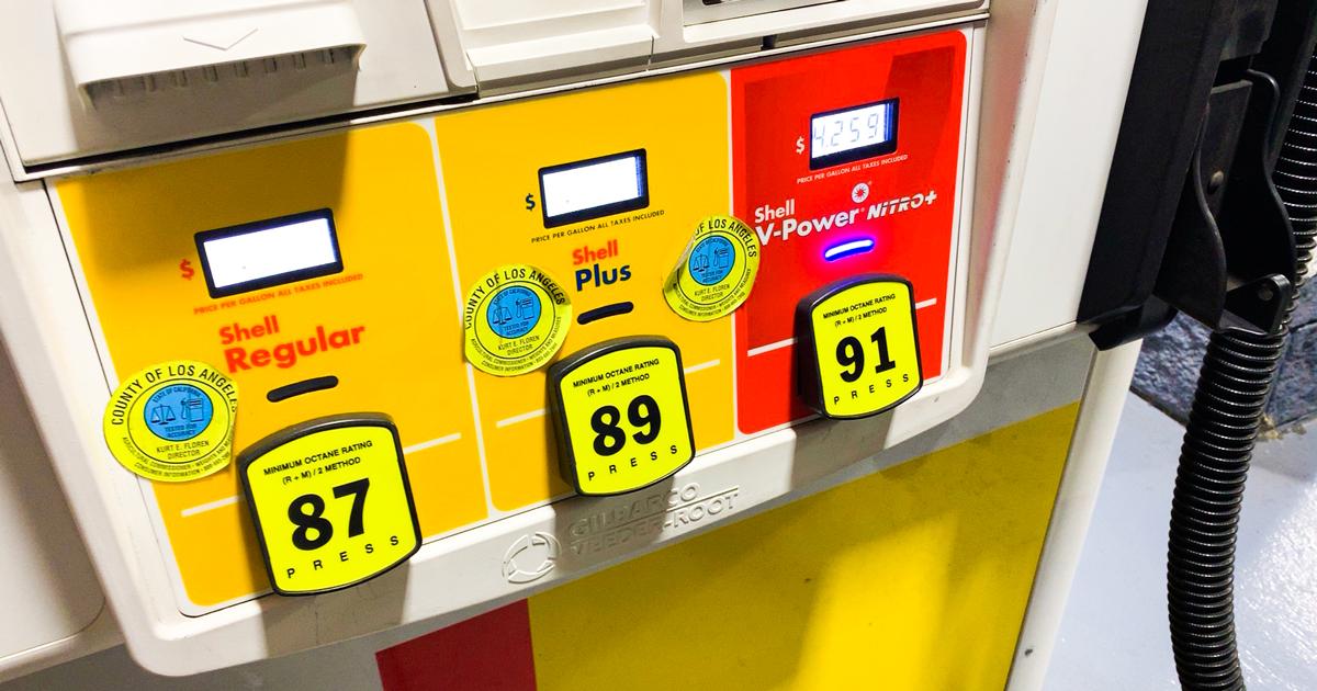 カリフォルニアのガソリンスタンド