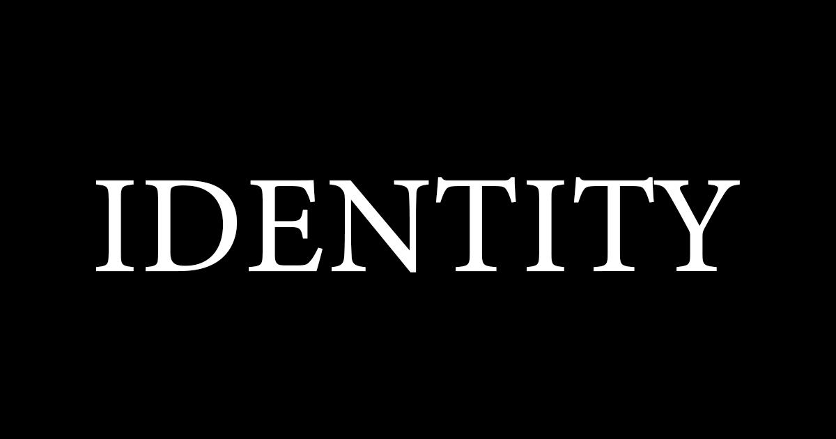 アイデンティティ崩壊