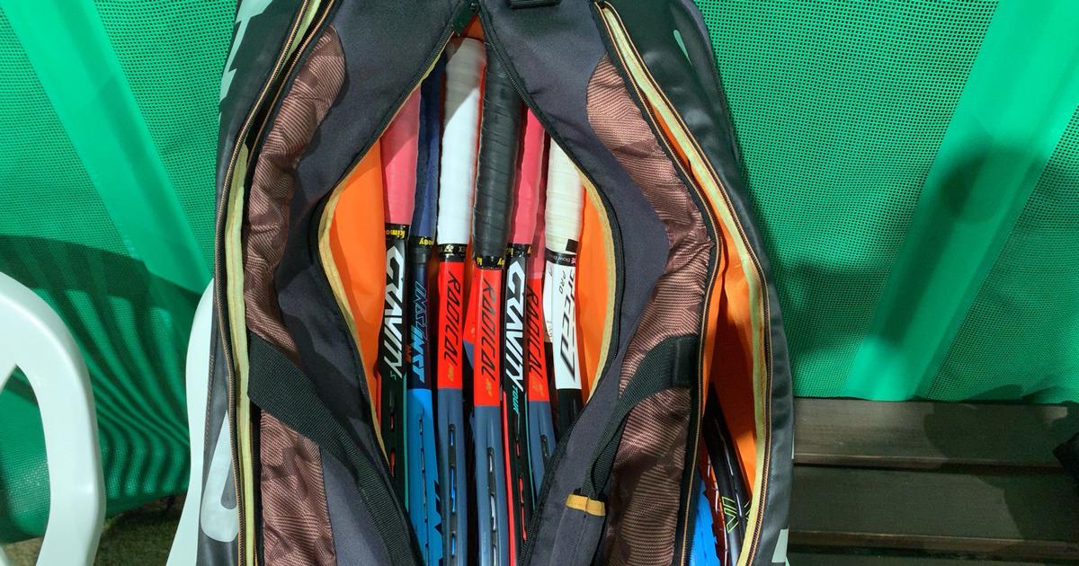 テニスラケットを新調した