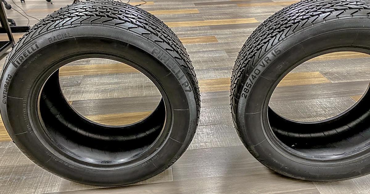 [ケーニッヒレストア]ボクはステアリングを切った時のタイヤ滑り現象をピレリP7 285/40/15で解決したい- VOL1