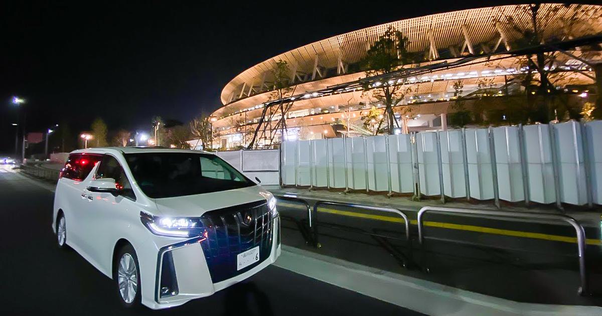 2020年東京オリンピック会場 新国立競技場を見る