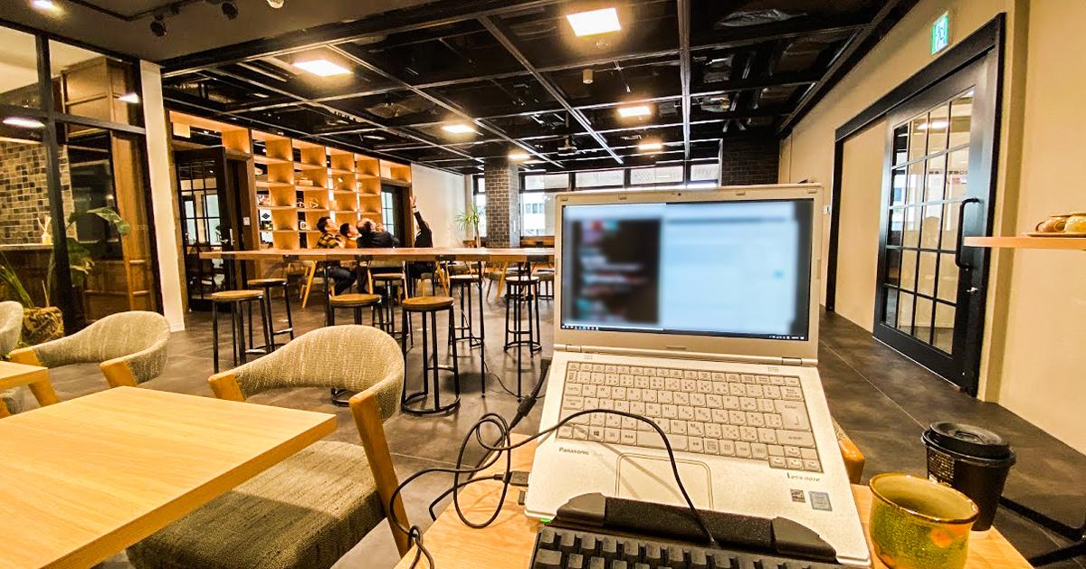 沖縄の日常4 - コワーキングオフィス2