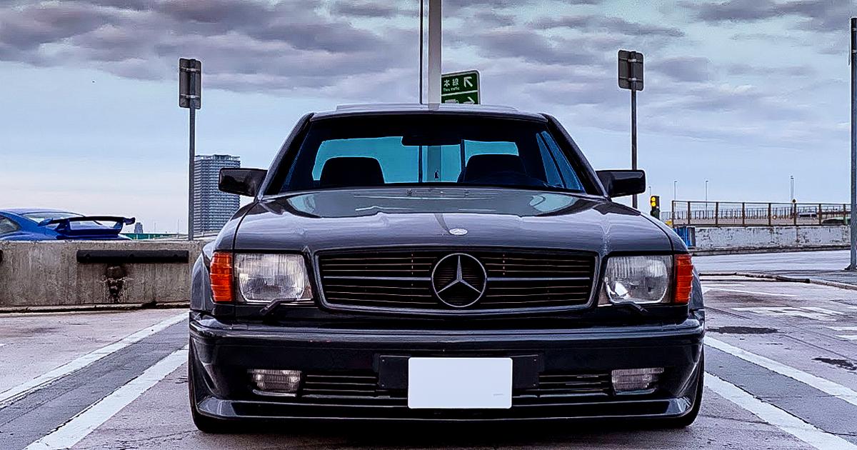 東京の日常 - w126 560SEC AMG WideBody