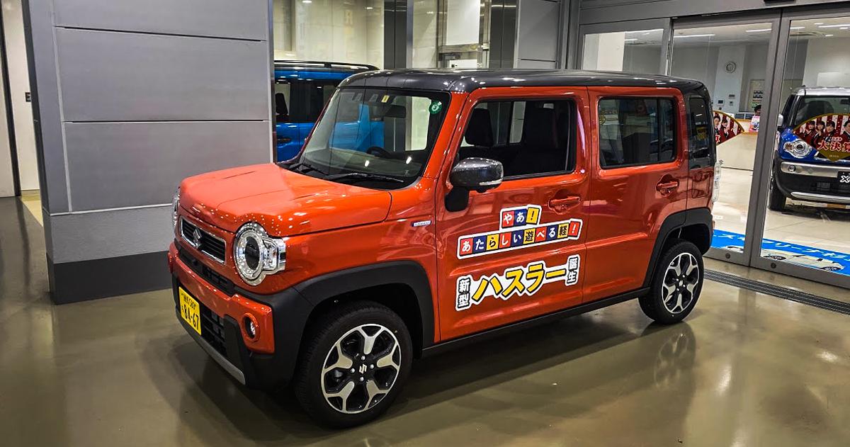 東京の日常 - げろげろマフラーと新型ハスラー