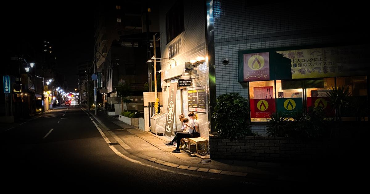 東京の日常 - ラーメン after テニス