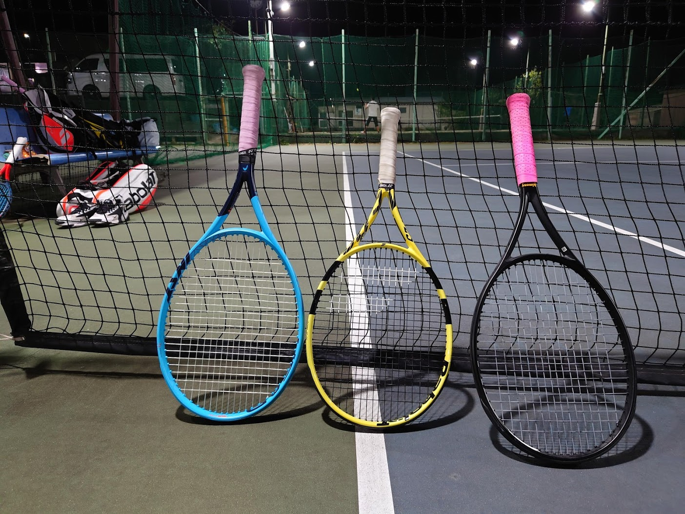 1週間ぶりテニス