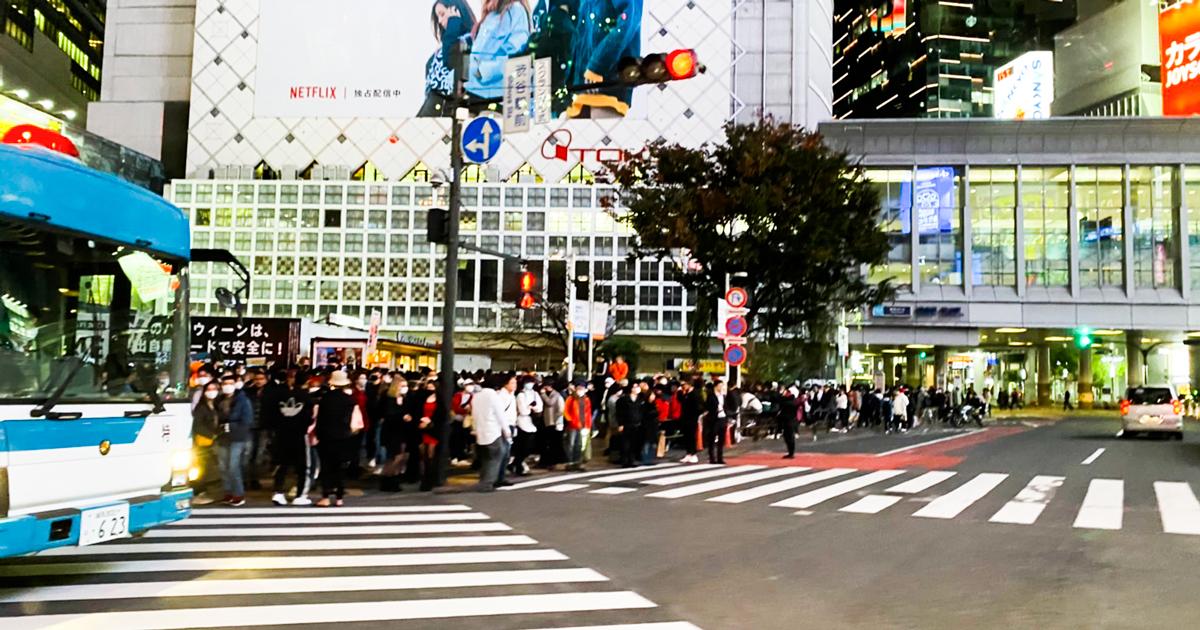 2020年コロナ渦中の渋谷ハロウィン