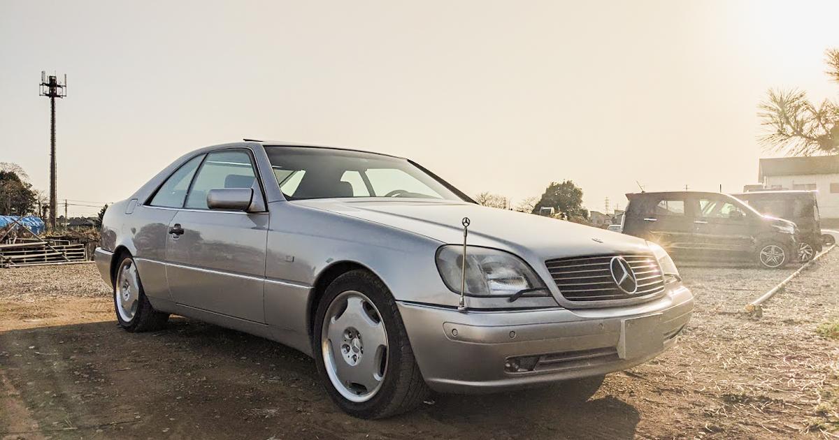 W140 V12気筒 CL600