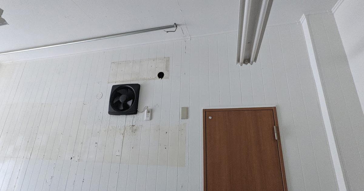 [マイガレージを作ろう]電気・水道・壁・床。設備の現状確認